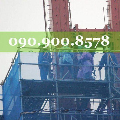 Lưới bao che công trình Blue 120g